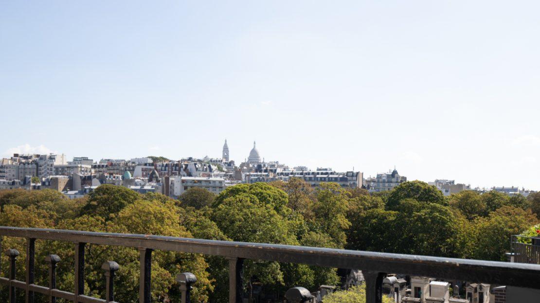 Paris 18ème - vue Sacré Coeur