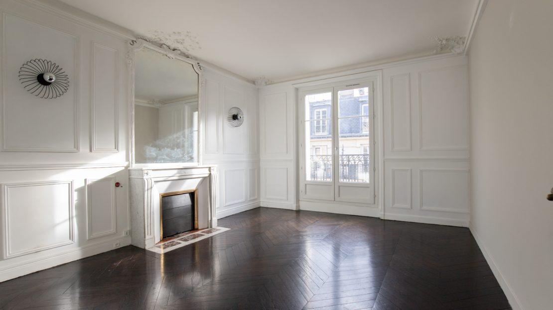 Paris 18ème - appartement familial - étage élevé et balcon