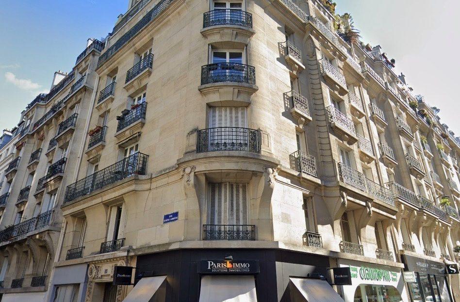 Paris 18è - BALCON exposé Ouest