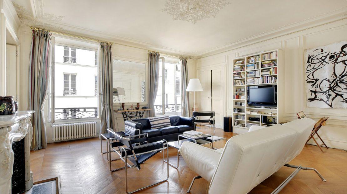 Paris 9ème - appartement familial - coup de coeur