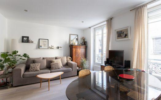 Paris 18e - 3 pièces - 2 chambres